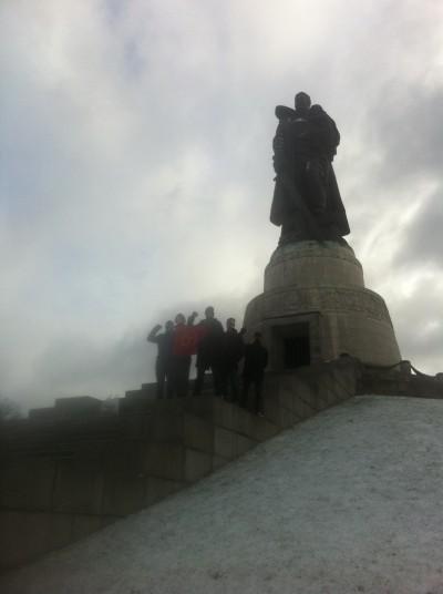 Berlin 2 Treptower Park Stora statyn