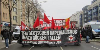 Berlin 6 Demonstration Fram Antifa genclik
