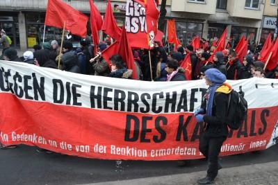 Berlin 7Demonstration sida
